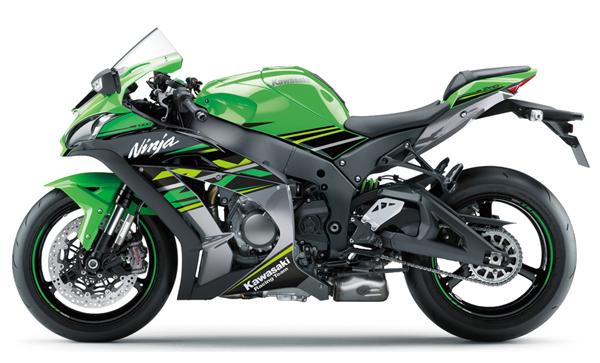 Kawasaki ZX10R 2018 สีเขียว