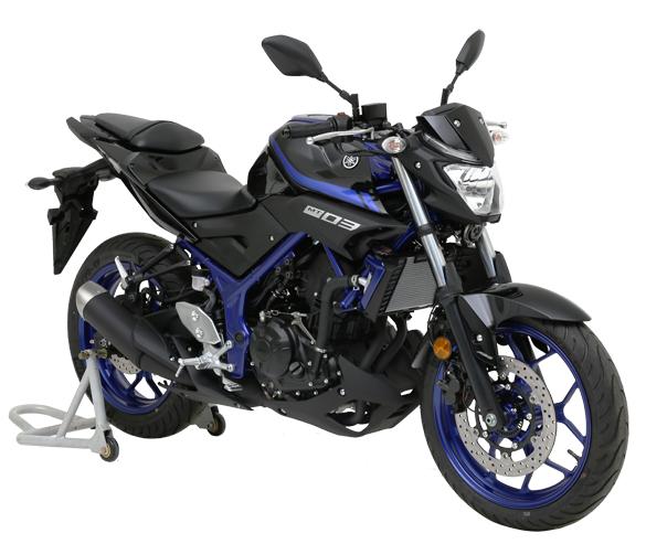 Yamaha MT 03 2018 สีน้ำเงิน