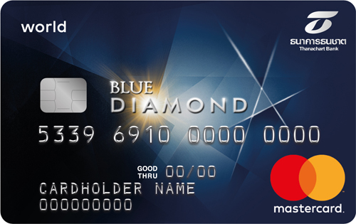 Blue Diamond Credit Card