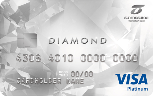 Diamond visa Credit Card
