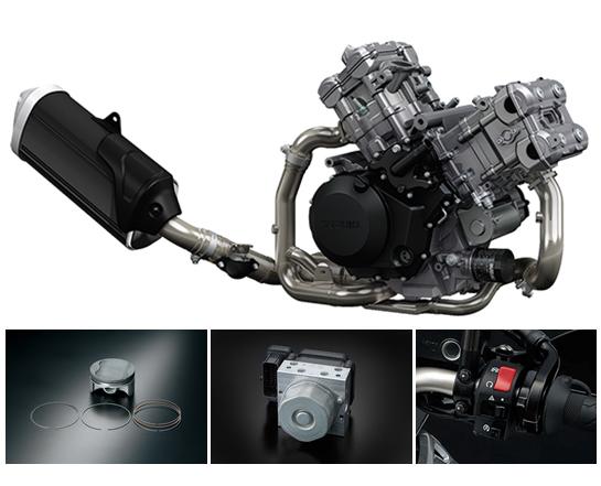 Suzuki V-Strom 1000 Engine