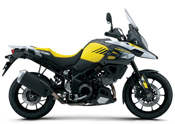 V-Strom 1000 สีเหลือง