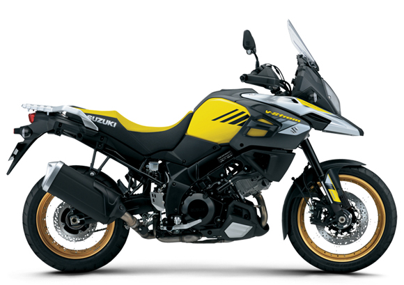 V-Strom 1000XT สีเหลือง