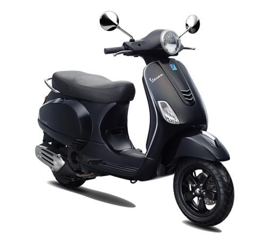 Vespa LX 125 i-Get สีดำ