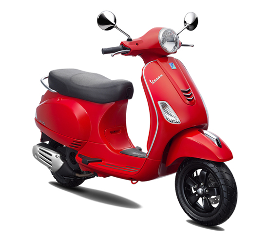 Vespa LX 125 i-Get สีแดง