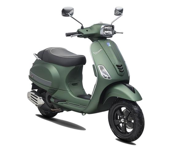 Vespa S 125 i–Get สีเขียวด้าน