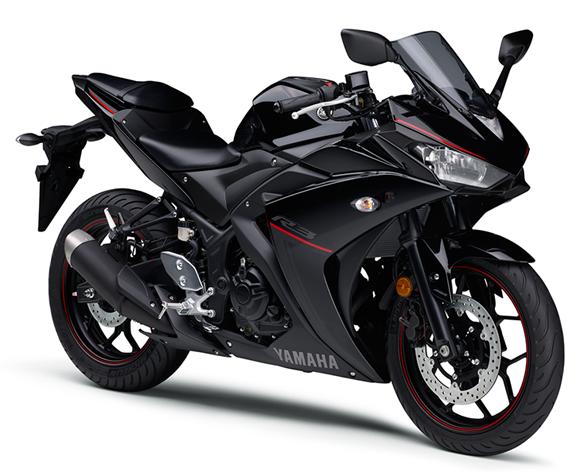 Yamaha R3 2018 สีดำ