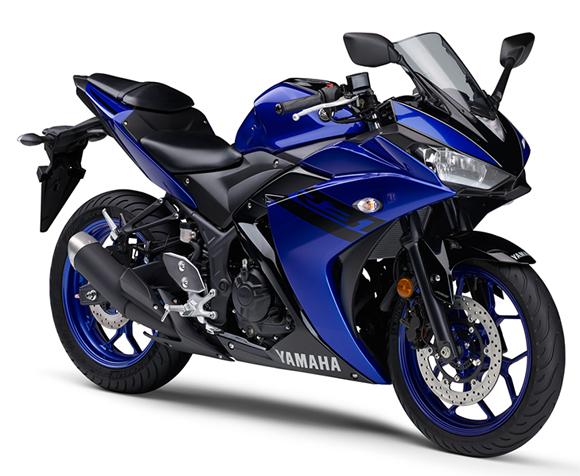 Yamaha R3 2018 สีน้ำเงิน