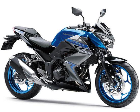 Z300 สีน้ำเงิน
