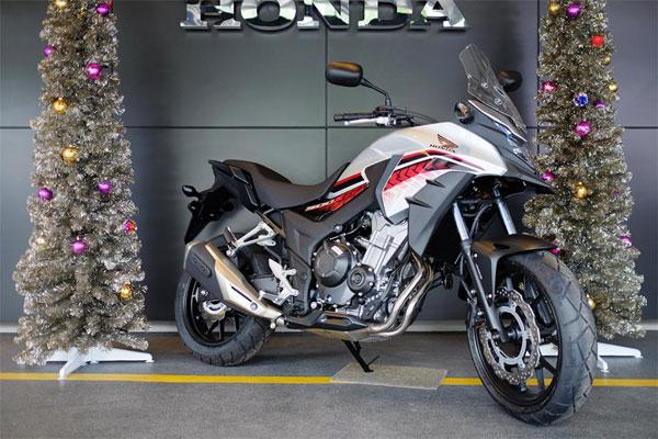 CB500X สีขาว