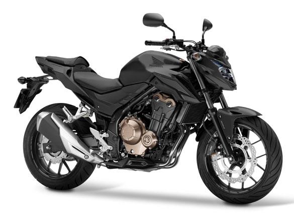 CB500F สีดำ