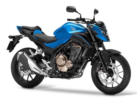 CB500F สีน้ำเงิน