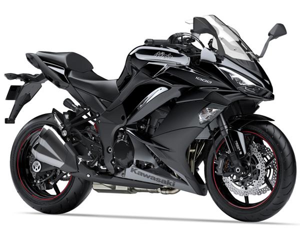 Ninja 1000 2018 สีดำ