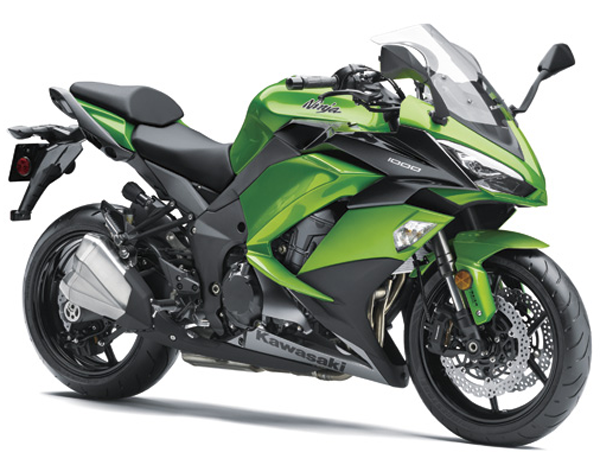 Ninja 1000 2018 สีเขียว