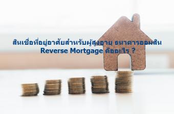 สินเชื่อ Reverse Mortgage
