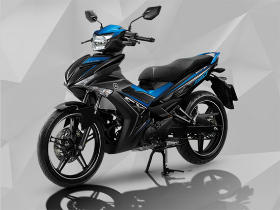 Exciter 150 2018 สีน้ำเงิน-ดำ
