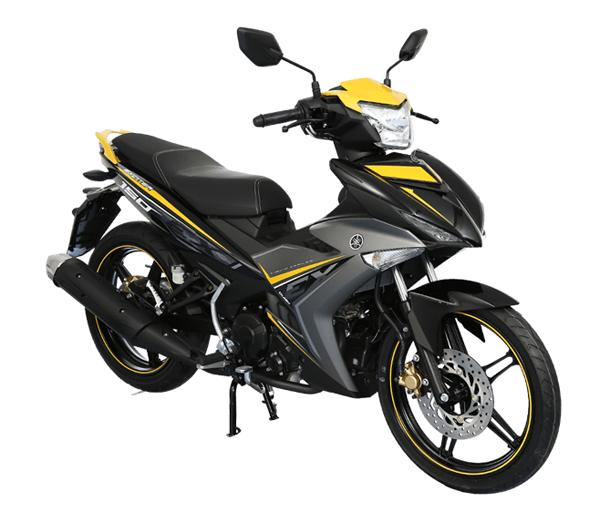 Exciter 150 สีเหลือง-ดำ