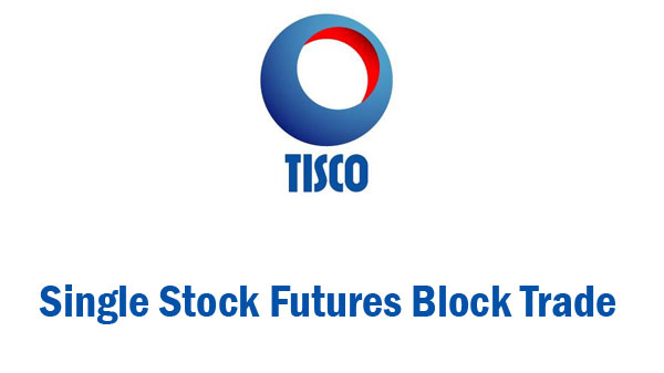 Tisco Single Stock Futures Block Trade