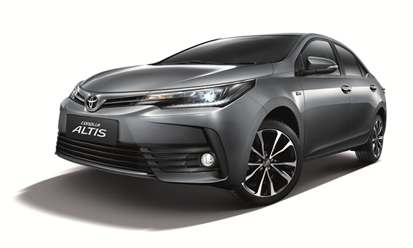 Toyota Altis, 2018, ตารางผ่อน, ราคา, โปรโมชั่น