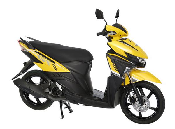 GT125 2019 สีเหลือง