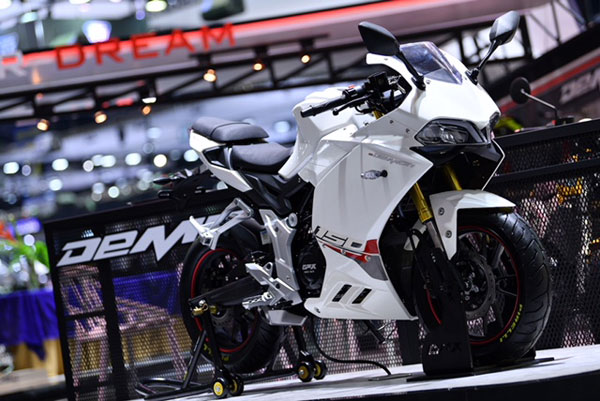 Demon 150 GR สีขาว