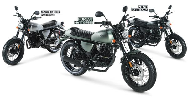 Legend 150s 2018, สีเขียว, สีเทา, สีดำ