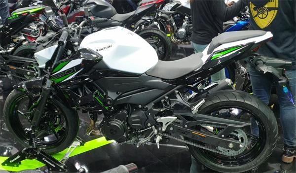 Kawasaki Z250 2019 สเปค