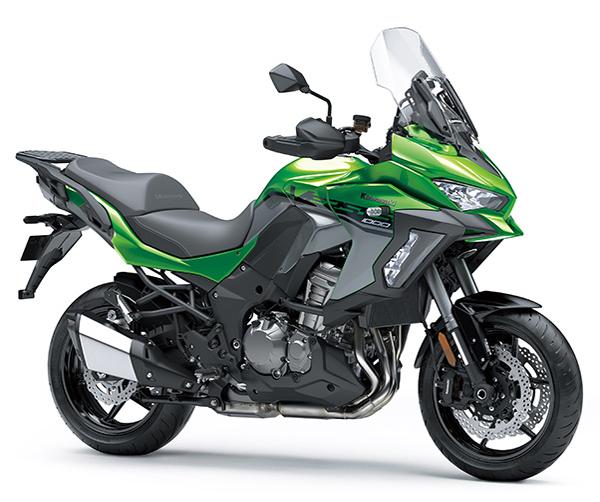 Versys 1000 SE 2019-2021 สีเขียว