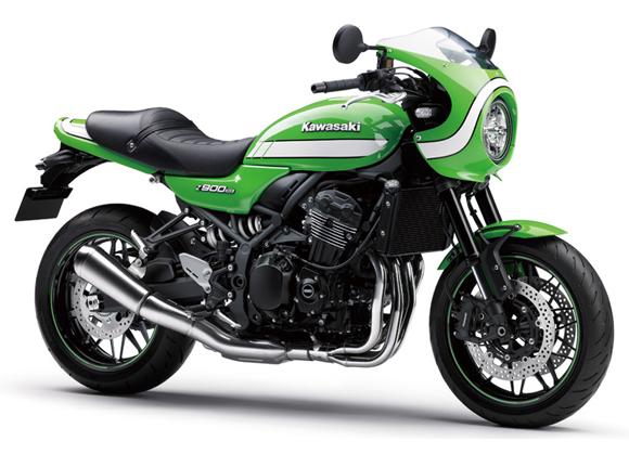 Z900RS Cafe สีเขียว