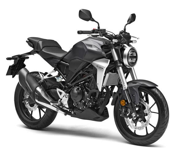 Honda CB300R สีดำ