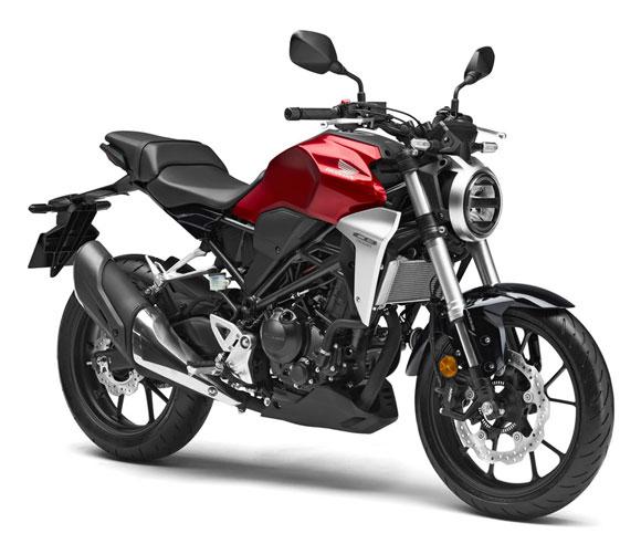Honda CB300R สีแดง