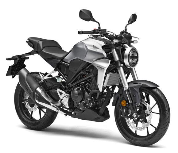Honda CB300R สีเทา
