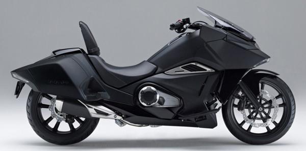 Honda NM4 สีดำ