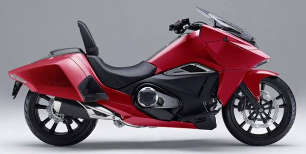 Honda NM4 สีแดง