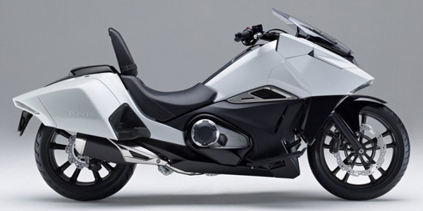 Honda NM4 สีขาว