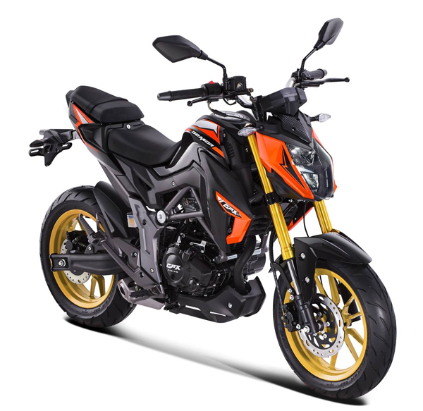 Demon 150 GN 2018 สีส้ม