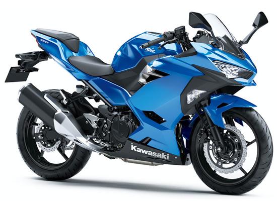 Ninja 400 สีน้ำเงิน