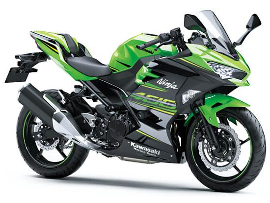 Ninja 400 KRT สีเขียว