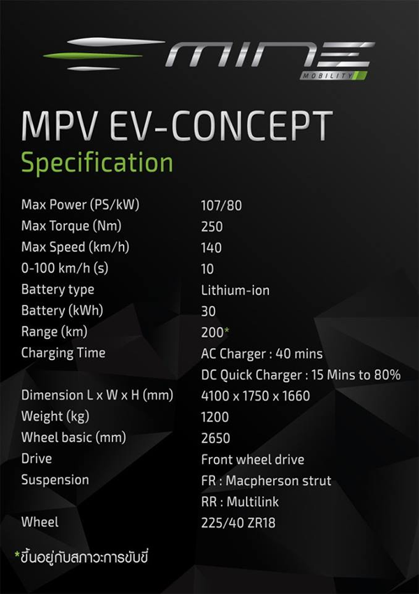 MINE MPV EV Comcept
