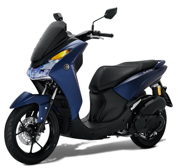 Yamaha LEXi สีน้ำเงิน