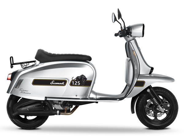 Scomadi TT125i UK Series สีเงิน