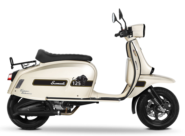 Scomadi TT125i UK Series สีขาว