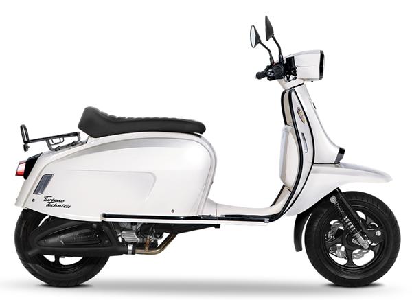Scomadi TT125i สีขาว