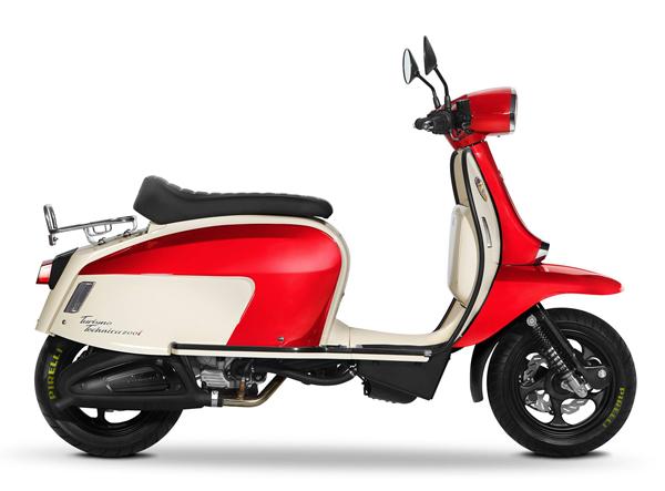 Scomadi TT200 สีขาว-แดง