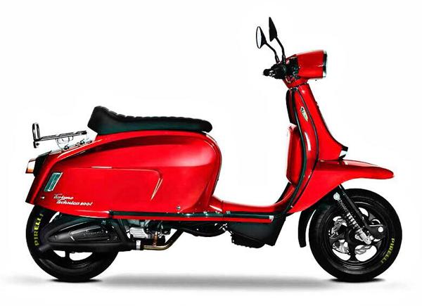 Scomadi TT200 สีแดง