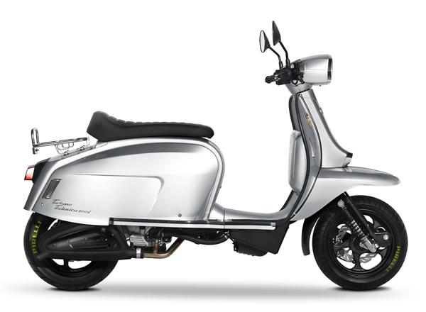 Scomadi TT200 สีเงิน