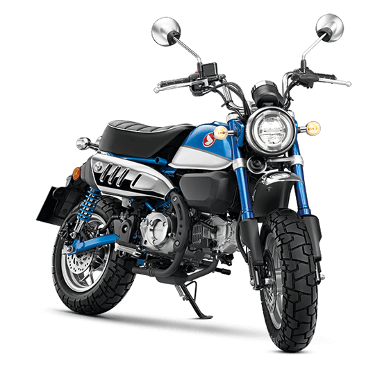 Honda Monkey สีน้ำเงิน