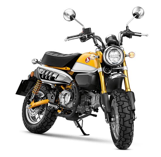 Honda Monkey สีเหลือง