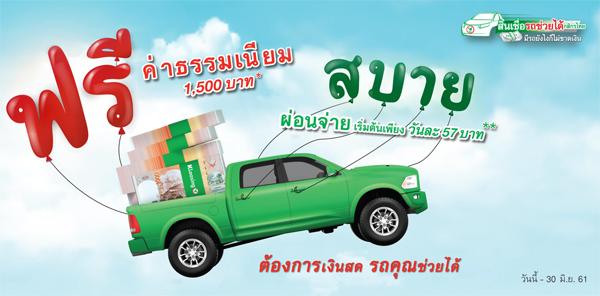รถช่วยได้กสิกรไทย, รถแลกเงิน กสิกรไทย