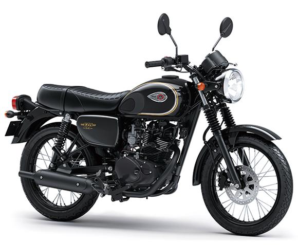 Kawasaki W175 SE 2019-2020 สีดำ